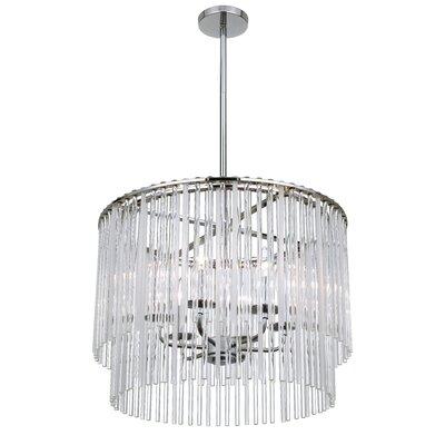 Rixensart 6-Light Crystal Chandelier