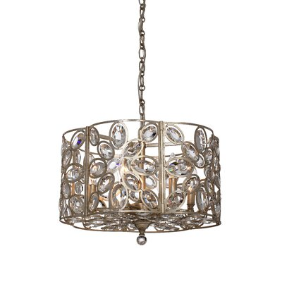 Rhode 6-Light Drum Chandelier