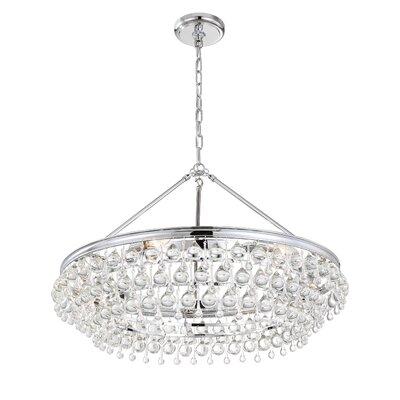 Robertville 6-Light Crystal Chandelier