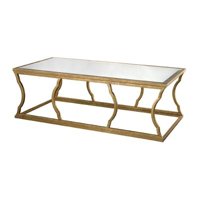Roy Coffee Table Color: Antique Gold Leaf