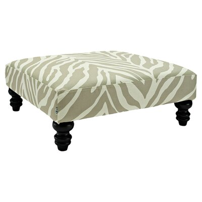 Wallace Phoenix Square Cocktail Ottoman in Putty