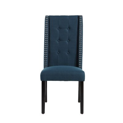 Gingerich Side Chair Upholstery: Azure