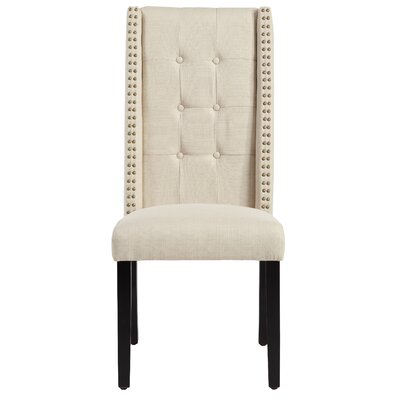 Zelma Side Chair Upholstery: Ricepaper
