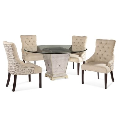 Roehl 5 Piece Dining Set