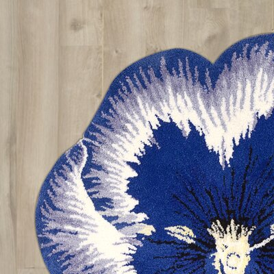 Wendover Hand-Tufted Blue Area Rug