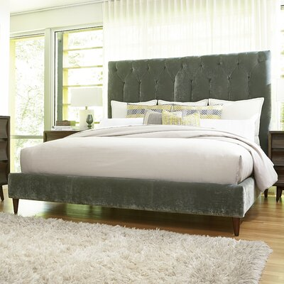 Giusto Upholstered Panel Bed Size: King