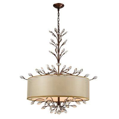 Turner 6-Light Drum Chandelier Finish: Spanish Bronze