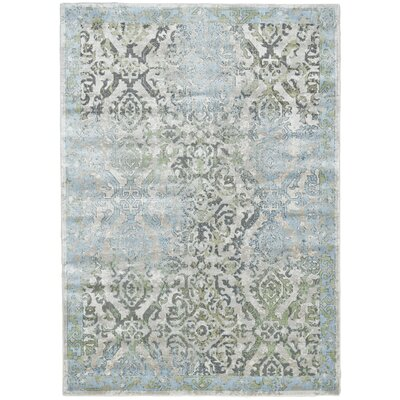 Ice/Birch Area Rug Rug Size: 5 x 8