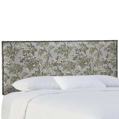 Beth Upholstered Panel Headboard Size: California King