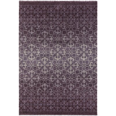 Purple Area Rug Rug Size: 2' x 3'6