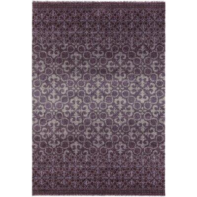 Shive Purple Area Rug Rug Size: Rectangle 2 x 36