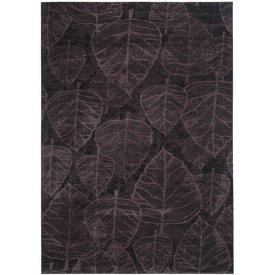 Elijah Charcoal Area Rug Rug Size: Rectangle 53 x 76