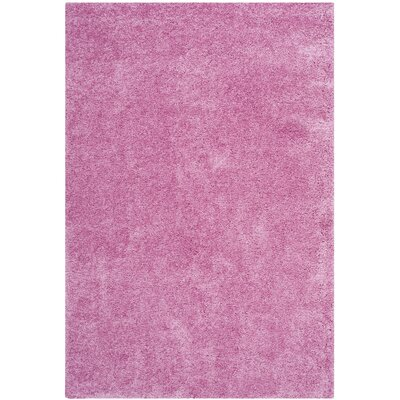 Ariel Pink Area Rug Rug Size: Square 4