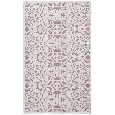 Bilboro Mauve/Violet Area Rug Rug Size: Rectangle 4 x 6