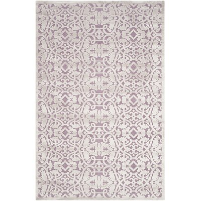 Bilboro Mauve/Violet Area Rug Rug Size: Rectangle 51 x 76