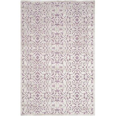 Bilboro Mauve/Violet Area Rug Rug Size: 51 x 76
