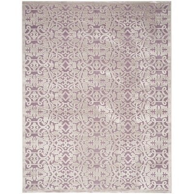 Bilboro Mauve/Violet Area Rug Rug Size: Rectangle 8 x 10