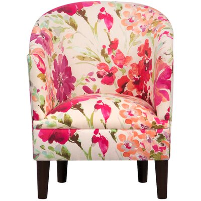Diana Barrel Chair Upholstery: Paint Palette Orchid