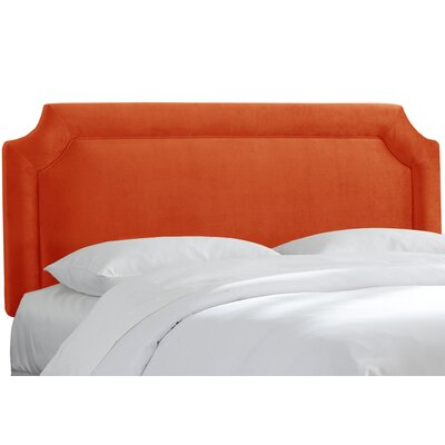 Alejandre Upholstered Panel Headboard Upholstery: Mystere Mango, Size: California King