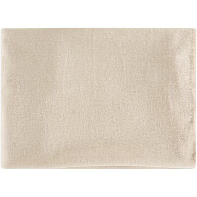 100% Mulberry Silk Throw Color: Neutral