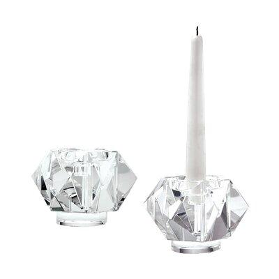 Crystal Votive Size: 3.3 H x 5 W x 5 D