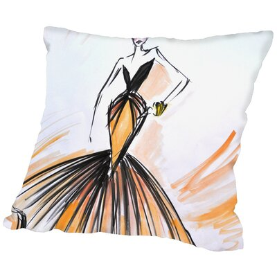 Hinesville Throw Pillow Size: 16 H x 16 W x 2 D