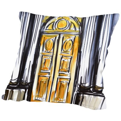 Albany Versailles Doors 1 Throw Pillow Size: 20 H x 20 W x 2 D