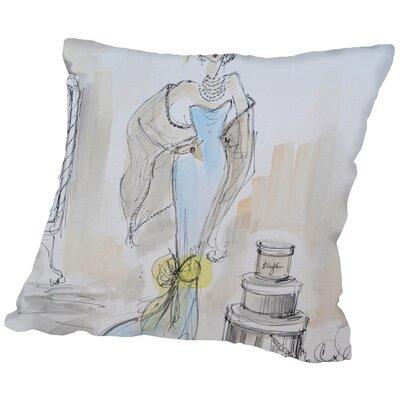 Neihart Sunday Shopping Throw Pillow Size: 20 H x 20 W x 2 D