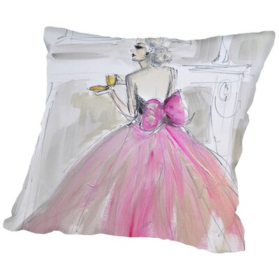 Grayson Afternoon Tea Throw Pillow Size: 16 H x 16 W x 2 D