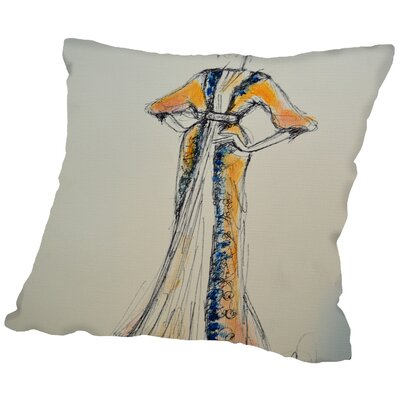Lincoln Old Hollywood Throw Pillow Size: 20 H x 20 W x 2 D
