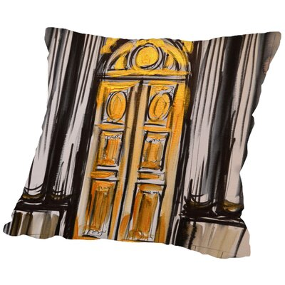 Lyda Versailles Doors 2 Throw Pillow Size: 18 H x 18 W x 2 D