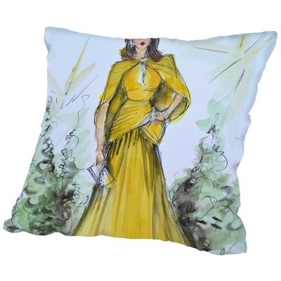 Twin Bridges Glow Throw Pillow Size: 20 H x 20 W x 2 D