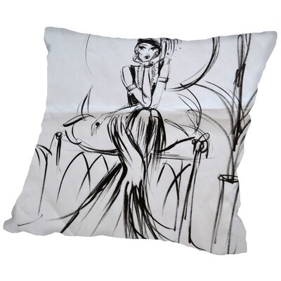 Rosalind Age Throw Pillow Size: 18 H x 18 W x 2 D