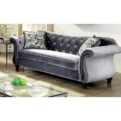 Tabitha Sofa Upholstery: Gray
