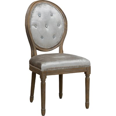 Ophelia Tufted Fabric Dining Chair