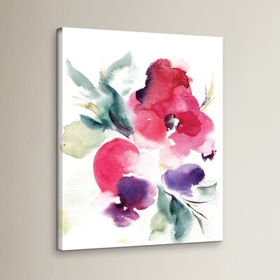 Summer Notes Painting Print on Wrapped Canvas Size: 08'' x 10''