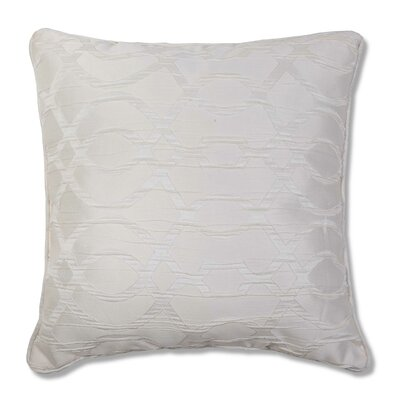Heroux Throw Pillow Color: Ivory
