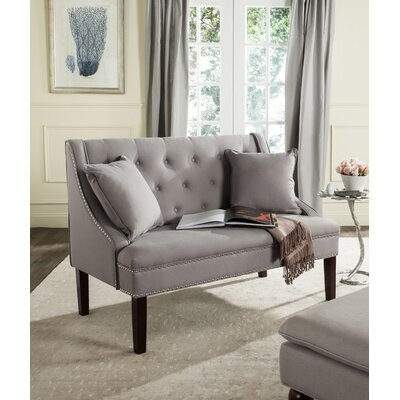 Zoey Upholstered Bedroom Bench Upholstery Color: Taupe