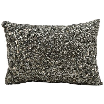 Hertzog Lumbar Pillow Color: Pewter