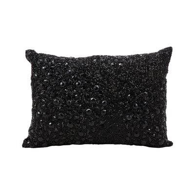 Hertzog Lumbar Pillow Color: Black