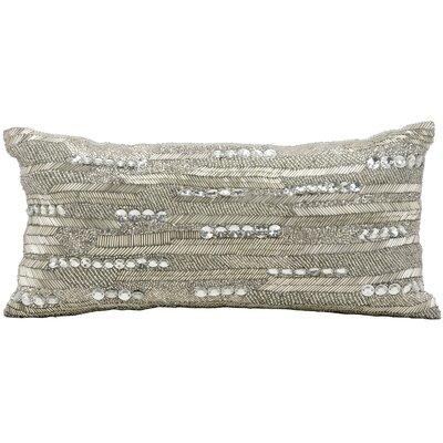 Hertzog Brilliant Beading Lumbar Pillow