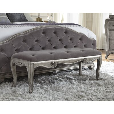 Holmes Upholstered Bedroom Bench