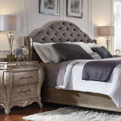 Holmes Upholstered Panel Headboard Size: King