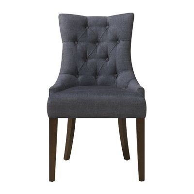 Barrile Side Chair Upholstery: Denim - Darkwash