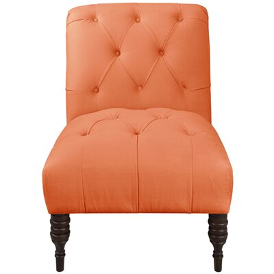Blasius Tufted Slipper Chair Color: Nectar