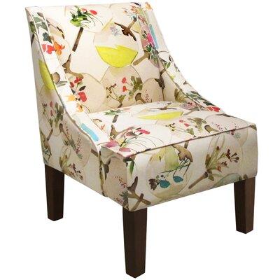 Goldhorn Armchair Upholstery: Mia Multi, Nailhead Detail: No Trim