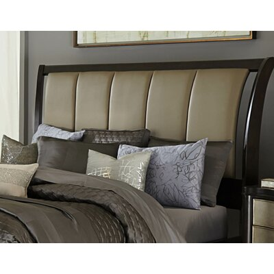 Barresi Upholstered Sleigh Headboard Size: Queen