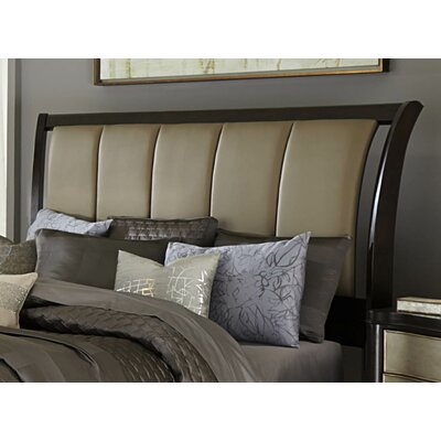Barresi Upholstered Sleigh Headboard Size: King