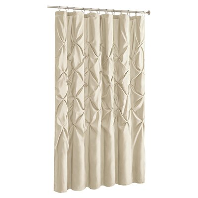 Ashton-under-Lyne Shower Curtain Color: Ivory