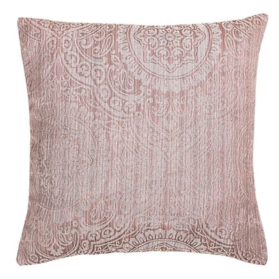 Lankin Throw Pillow Color: Terracotta